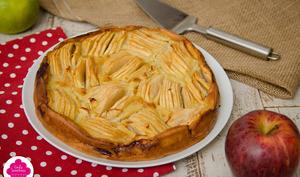 Clafoutis aux pommes et lait d'amande