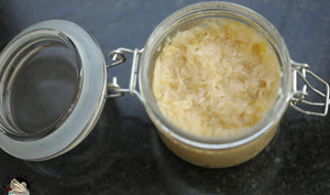 Chou fermenté pour choucroute