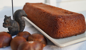 Gâteau aux marrons d'Attie