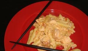 One pot pasta aux saveurs asiatiques