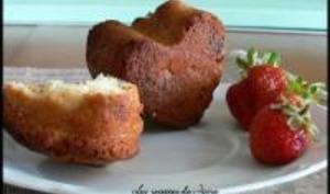 Cake façon Muffins à la Banane et Chocolat Blanc