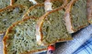 Cake Fondant au Pesto, Comté et aux Graines