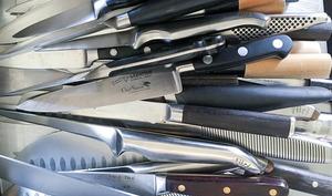Affûtage des couteaux