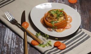 Grenadins de veau carottes