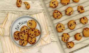 Cookies apéritifs aux lardons et parmesan