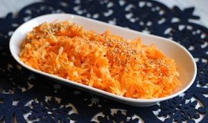 Salade de carottes et radis noir