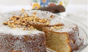 Gâteau très noisette, ricotta, semoule extra moelleux