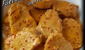 Filet mignon sauce madère