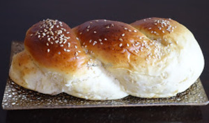 Petits pains briochés au labneh et semoule