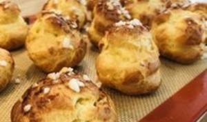 Chouquettes au cook processor