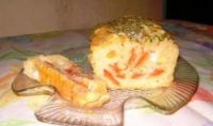 Cake Tomates et Mozzarella
