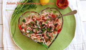 Salade de fenouil à l'orange sanguine