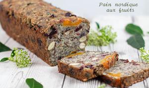 Pain nordique aux graines et aux fruits secs