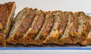 Cake campagnard aux rillettes et aux orties