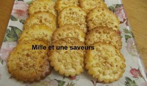 Biscuits aux éclats d'amandes