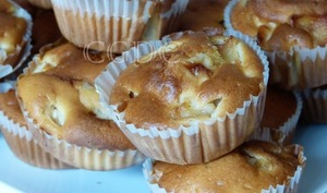 Muffins aux pommes reinettes