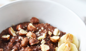 Porridge cacao noisette
