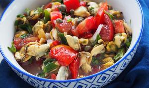 Salade de moules vinaigrette