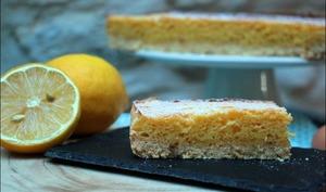 Gâteau sablé au citron