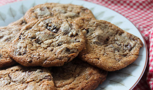Cookies moelleux au chocolat praliné