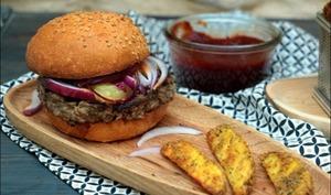 Hamburger classique à la tomme de Big Fernand