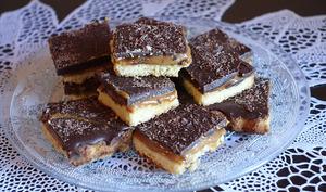 Twix ou shortbread maison à la dulce de lèche