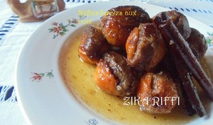 Nèfles faries aux noix marka hlouwa mouz machi b zawz