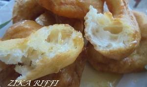 Beignets express au miel et a la felur d'oranger