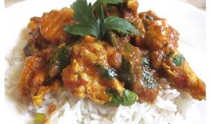 Curry au poulet et aux légumes