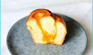 Briochettes roulées à la crème d'abricot