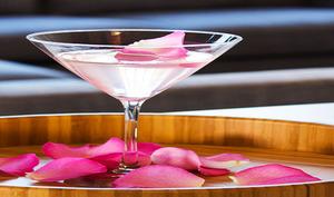 Cocktail désert rose