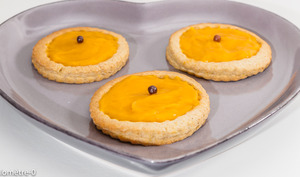 Sablés légers à la crème d'abricot