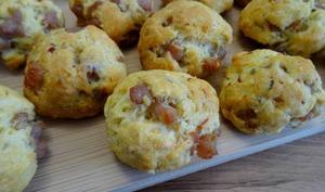 Cookies aux lardons et emmental