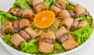 Brochettes de chipolatas