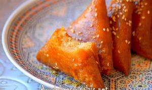 Samsa gâteau algérien aux amandes
