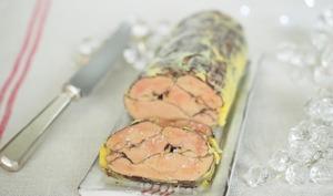 Foie gras au chocolat et vieil armagnac