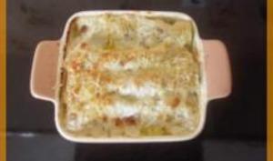 Cannelloni au Saumon et Epinards