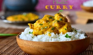 Poulet au curry facile