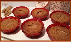 Mini moelleux au chocolat dulcey