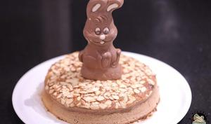 Moelleux de Pâques chocolat amandes