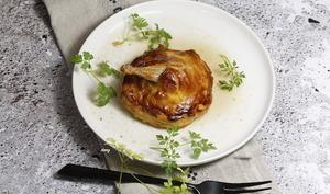 Petites tourtes de caille au foie gras