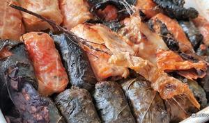 Feuilles de chou et de vignes farcies aux légumes- Sarmale, Sarma