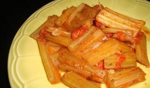 Côtes de blettes à la tomate