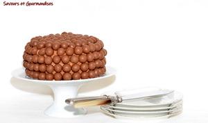 Gâteau chocolat aux Maltesers