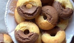 Madeleines chocolat vanille