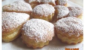 Biscuits feuilletés aux petits suisses