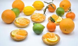 Tartelettes à la crème d'orange