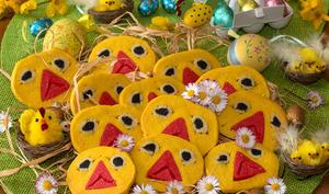 Sablés poussins pour Pâques