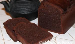 Cake ultra aérien et healthy au chocolat