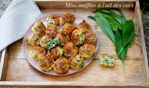 Mini muffins à l'ail des ours
